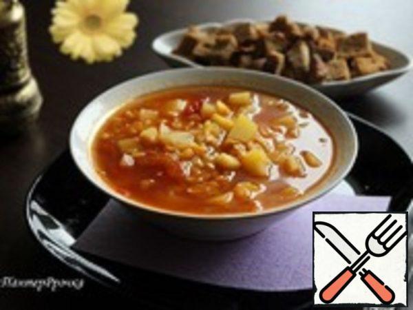 Amazingly aroma Pea Soup Recipe