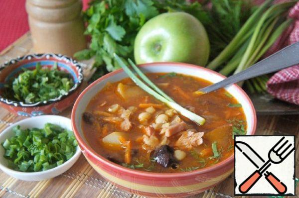 """Pea soup """"Yerevan"""" Recipe"""