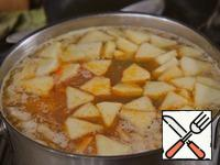 Add roasting, prunes, apples.