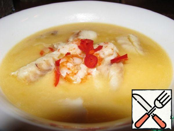 Thai Fish Soup with Coconut Milk Recipe