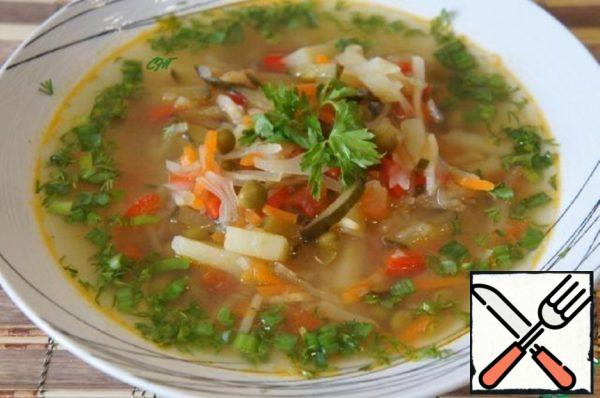 "Soup ""Assumption"" with Pickles Recipe"