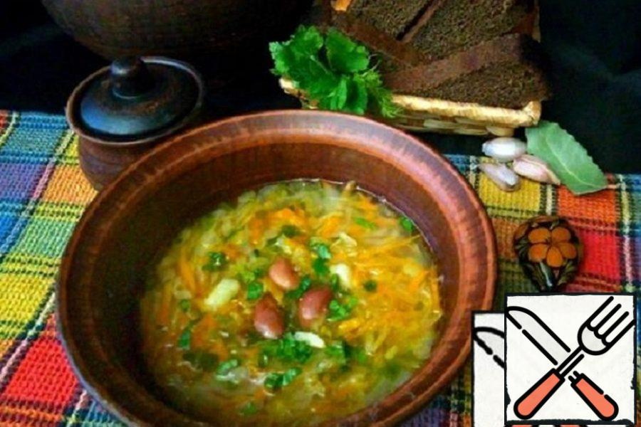 Meatless Soup with Haricot Recipe