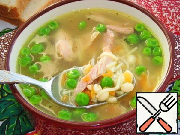 Bean-Noodles Soup Recipe