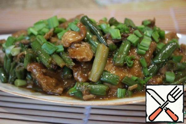 Pork and Beans in Oyster Sauce Recipe