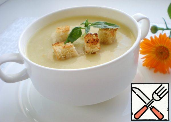 Cream Soup of Zucchini 2 Recipe