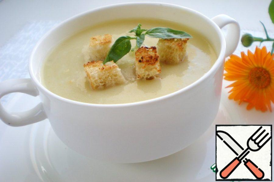 Cream Soup of Zucchini Recipe