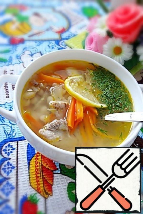 Fish Soup with white Beans Recipe