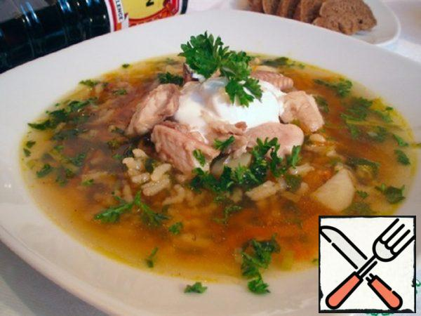 Fish Soup with Soy Sauce Recipe