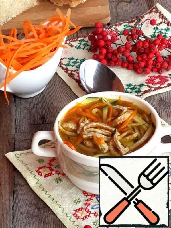 Autumn Vegetable Soup with Buckwheat Omelet Recipe