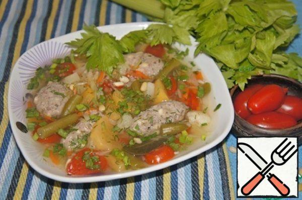 """The Spanish Soup """"Cosido"""" Recipe"""