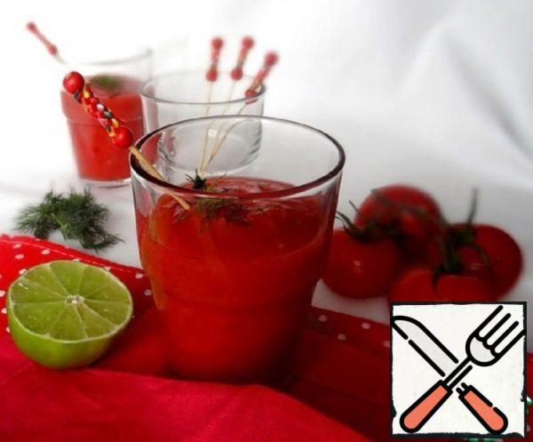 Cherry-Tomato Gazpacho Recipe