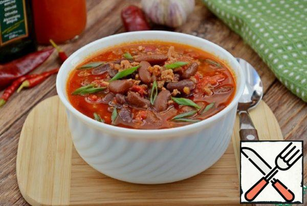Spicy Beans with Mincemeat Beef Recipe