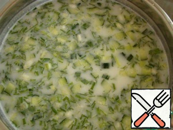 Okroshka with Meat Recipe