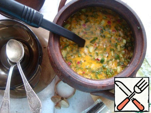 Okroshka for Lent Recipe
