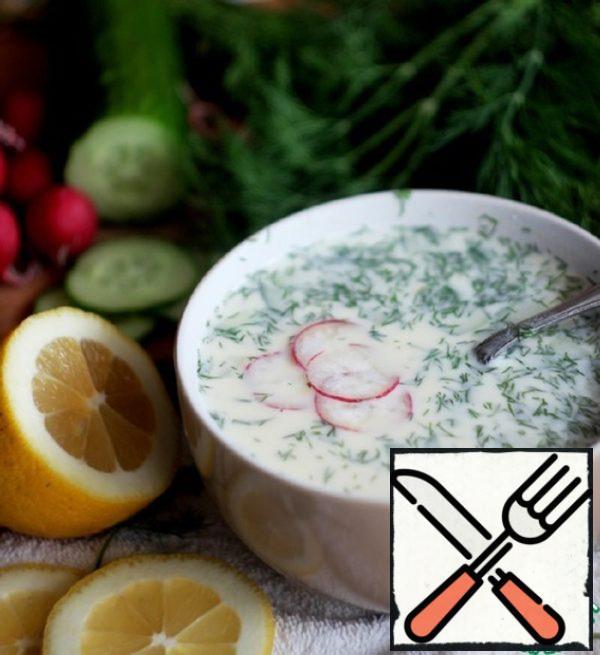 Okroshka with Chicken Recipe