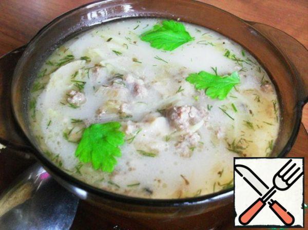 """Mushroom soup """" Rocket"""" Recipe"""