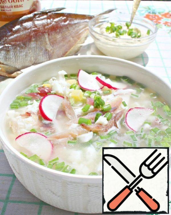 "Okroshka ""on-Volgograd"" Recipe"