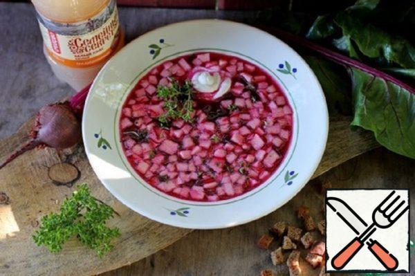 """Okroshka """"Autumn"""" Recipe"""