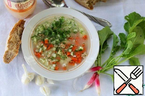 Grandma's Okroshka with Secrets Recipe