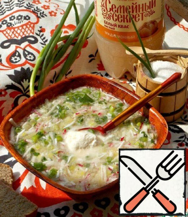"Okroshka ""Rubbing"" Recipe"