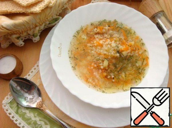 Soup with Millet Recipe