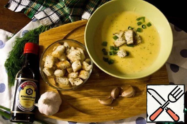 Cheese Сream Soup with Vegetables Recipe
