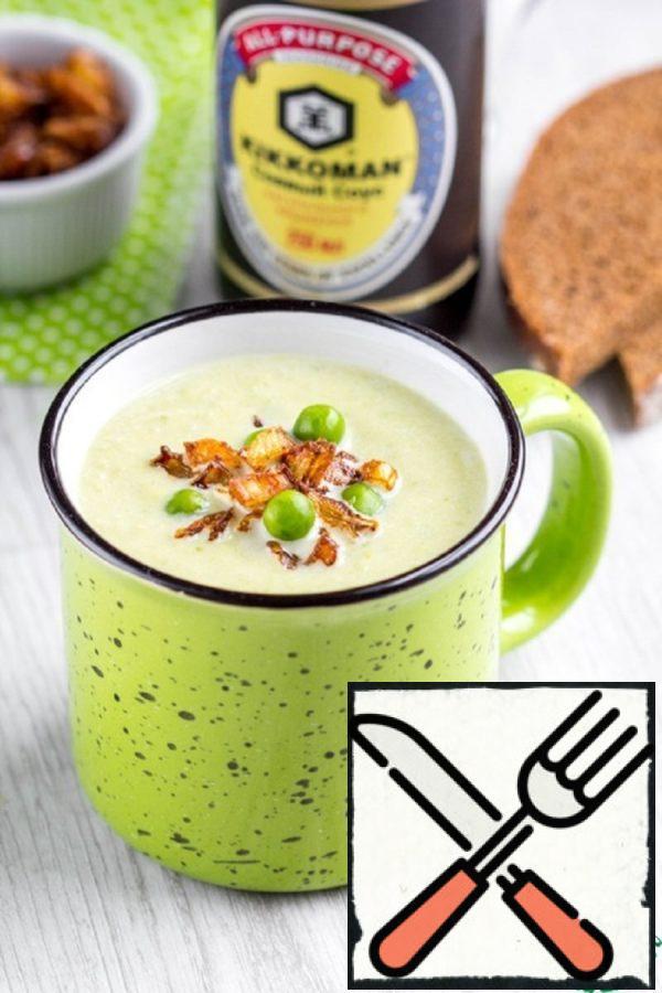 Cream Soup with Crispy Onions Recipe
