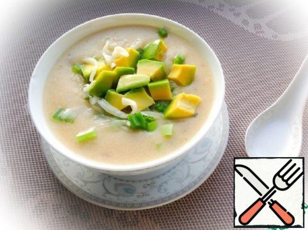Ecuadorian Potato Soup with Avocado Recipe