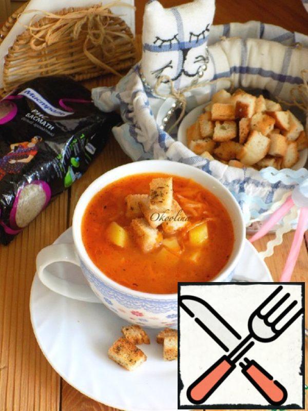 Lenten Potato Soup with Rice Recipe