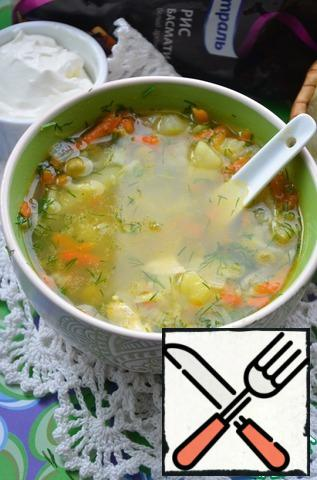 The soup is ready!