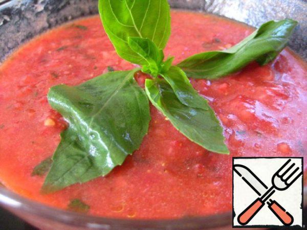 Strawberry-Tomato Gazpacho Recipe