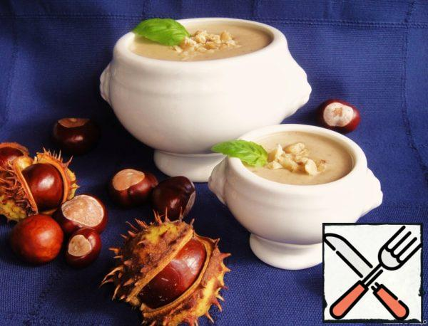 "Cream Soup of Chestnuts "" 20th century begins"" Recipe"