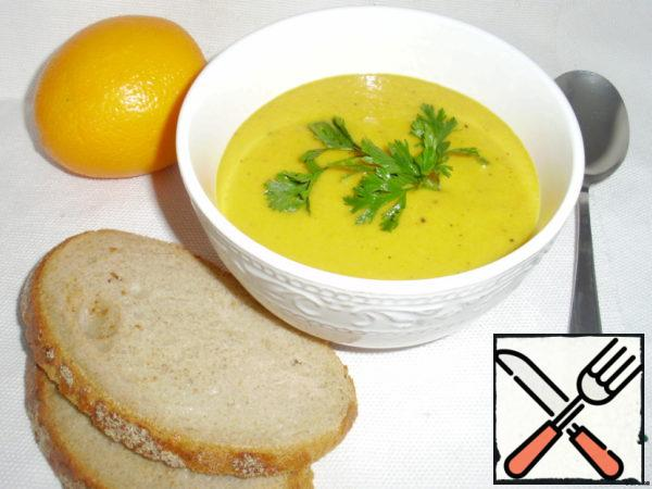 Cream Soup of Pumpkin-Orange Recipe