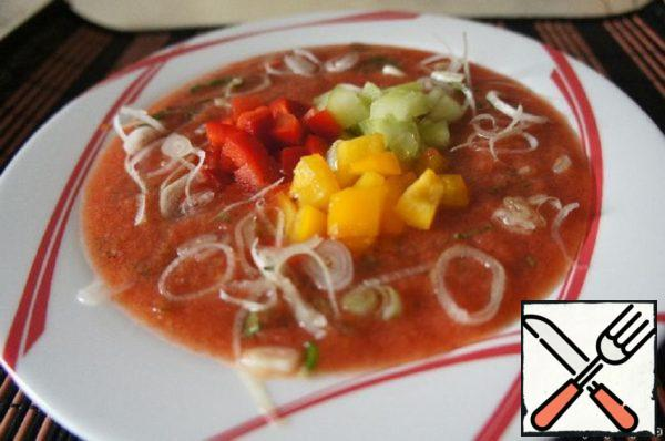 """Gaspacho """"Ruby"""" Recipe"""