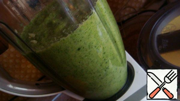 Beat with a blender to puree.