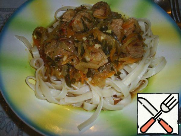 """Lagman """"Greetings from Bishkek"""" Recipe"""