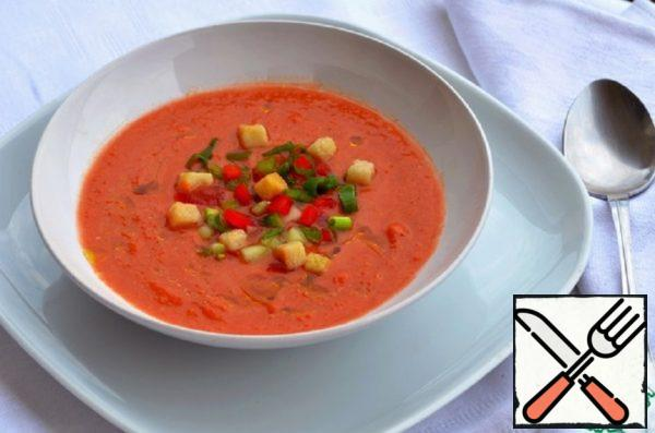 Classic Andalusian Gazpacho Recipe