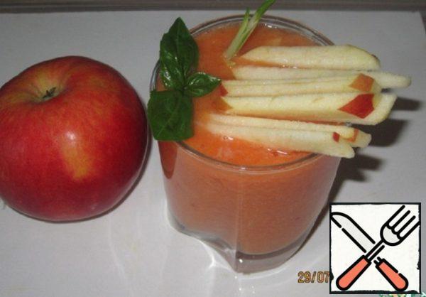 Apple-Tomato Gazpacho Recipe