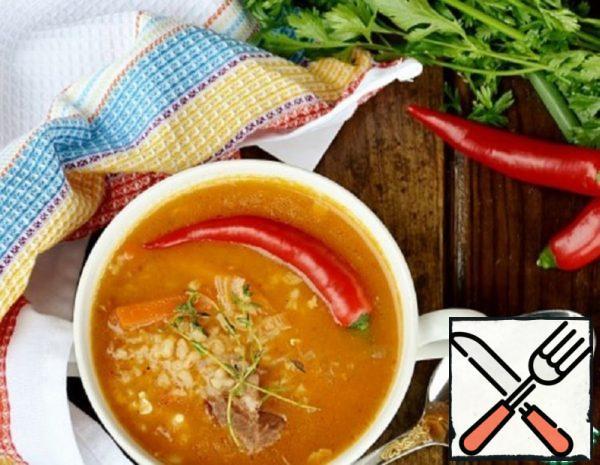 Thick Lamb Soup Recipe