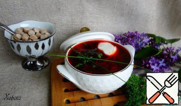Borscht for a Healthy Diet Recipe