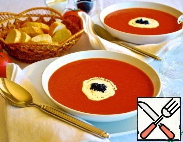 "Tomato Soup ""Bloody Mary"" Recipe"