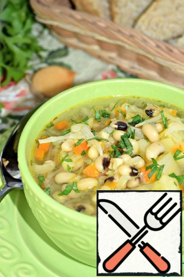 Cabbage Soup with Beans Recipe