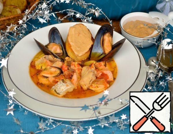 "Marseille Fish Soup ""Bouillabaisse"" Recipe"