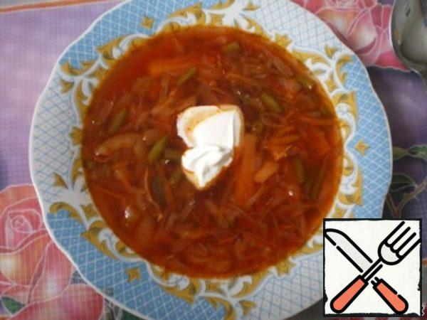 "Borscht ""Hetman"" Recipe"