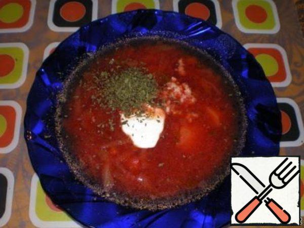 """Borscht """"Fire"""" Recipe"""