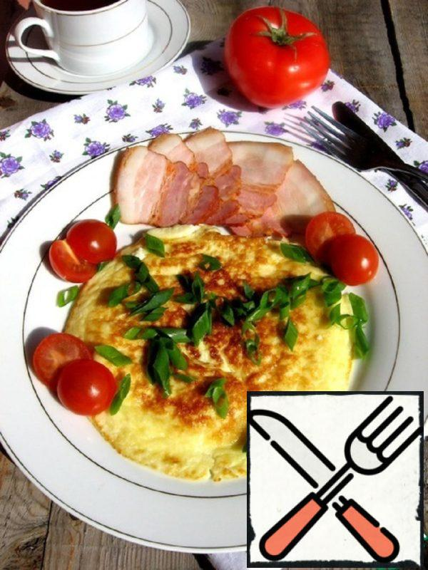"Omelette ""Tender"" with Semolina Recipe"