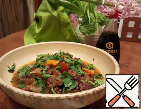 Beef in a Pot in Arabic Recipe