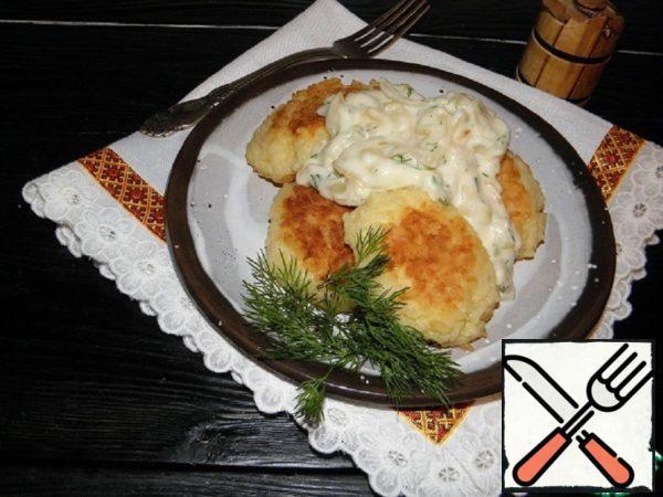 Rice Chops with Onion-Cream Sauce Recipe