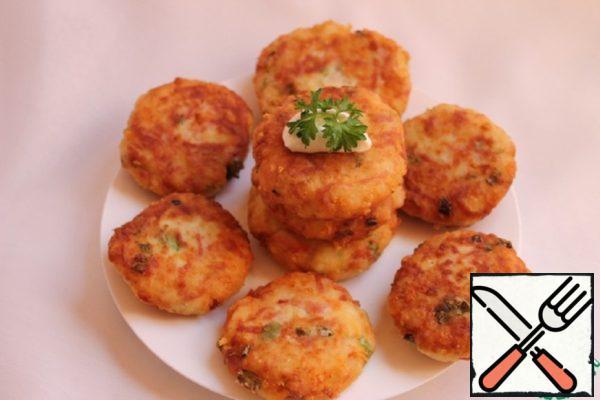 Potato-Sausage Chops Recipe