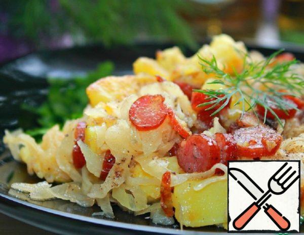 Warm Salad in German Style Recipe